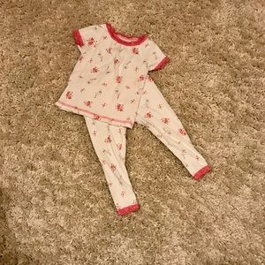Carter's Girls Two Piece Pajamas 18 Months